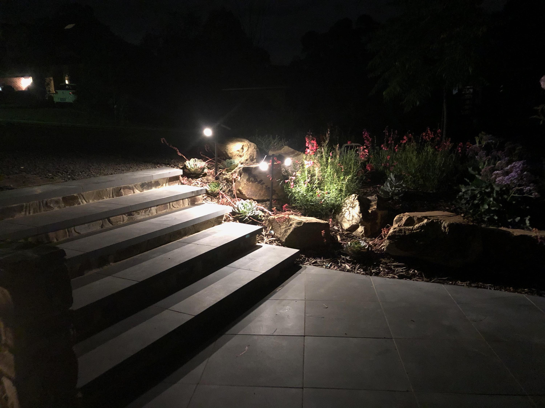 Step lighting, garden lights