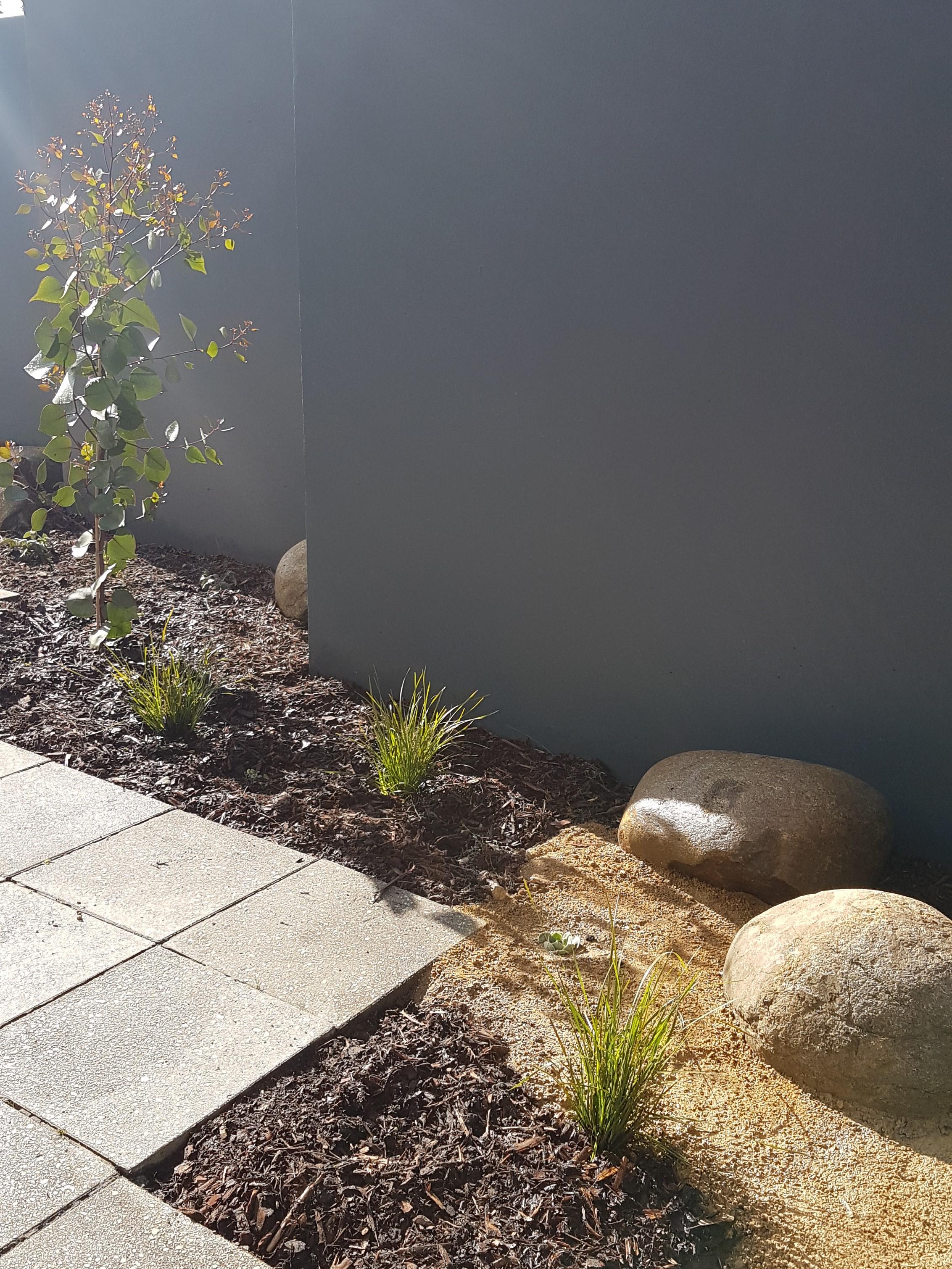 Native plants, Native commercial garden, Rocks, Devils marbles, granetic sand
