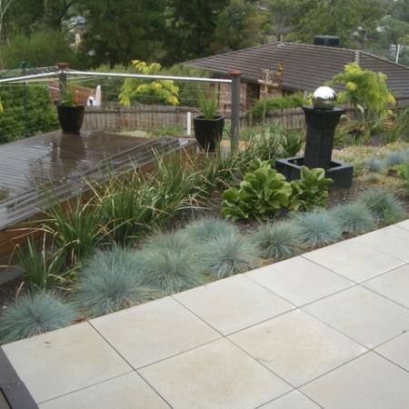 Eltham back garden kate ashton landscape design melbourne for Pool design eltham