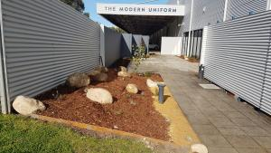Native plants, Native commercial garden, Rocks, Devils marbles.