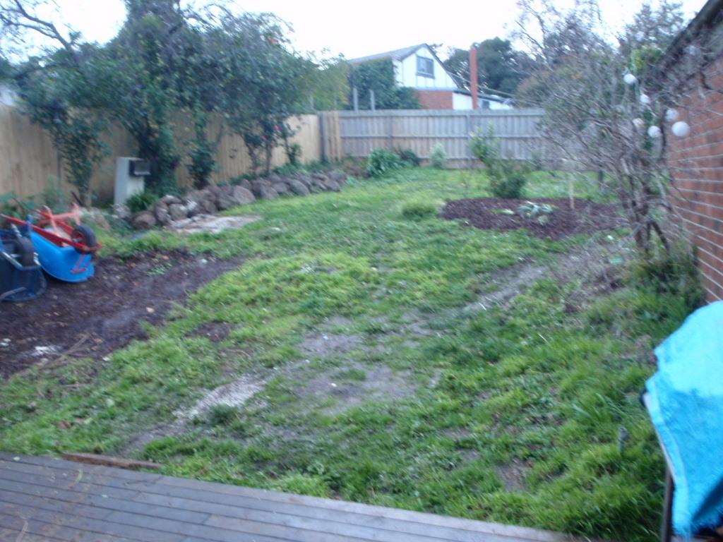 Bad garden, needs facelift, East Ivanhoe back garden